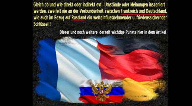 Deutschland / Frankreich – Würdigung von Occupy Vienna