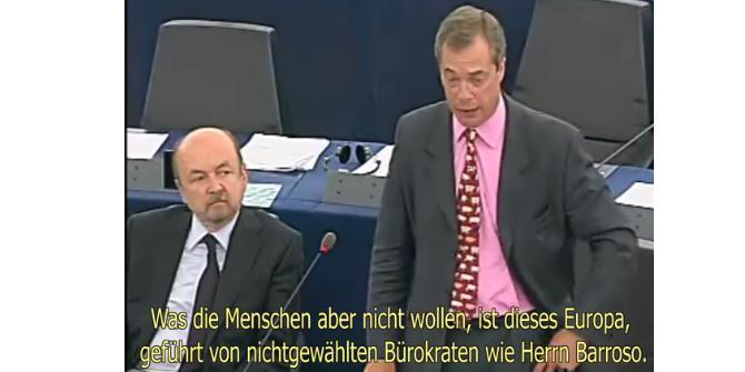 """Nigel Farage: """"Ich möchte, dass sie alle gefeuert werden!"""""""