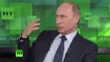 Putin über globale ethnische Säuberung in Amerika