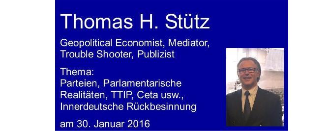 Thomas H. Stütz – Deutschland Parteien, Strukturen, heute